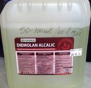 Solutie concentrata de curatat mulgatoare - Diemolan Alcalic / Dibazic Activ 5kg
