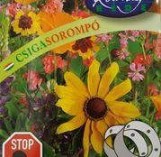 Banda cu seminte flori Bariera pentru limacsi 4m