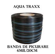 Banda de picurare Aqua Traxx 6 mil/20 cm, 1,41 l/h