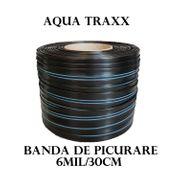 Banda de picurare Aqua Traxx 6 mil/30 cm, 1,41 l/h