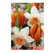 Bulbi de flori Lalele&Narcise Duo Orange Dreams 8buc
