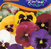 Seminte flori Panselute (Viola x witrockiana ) amestec de culori 0,25g