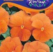 Seminte flori Panselute (Viola x witrockiana) portocalii 0.25g
