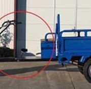 Remorca pentru motosapa, 500 kg, basculabila, MGR