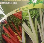 Seminte Mangold Duo - Lucullus/ Rhubarb Chard 2x4g