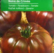 Seminte tomate (rosii) Noire de Crimee - tip Inima de Bou
