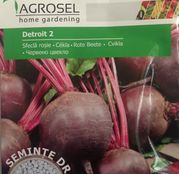 Seminte drajate Sfecla rosie Detroit 2, 120 sem