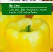 Seminte Ardei Gras Barbara 1.5g