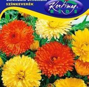 Seminte flori Galbenele (Calendula officinalis) amestec de culori 1g