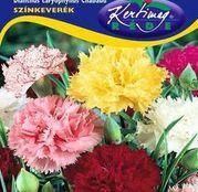 Seminte flori Garoafe Chabaud (Dianthus caryophyllus) amestec de culori 0.25g