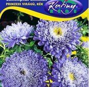 Seminte flori Ochiul boului (Callistephus chinensis) Princess - albastru 1g
