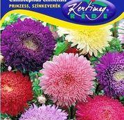 Seminte flori Ochiul boului (Callistephus chinensis) Princess - amestec de culori 1g