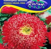 Seminte flori Ochiul boului (Callistephus chinensis) Princess - rosu 1g