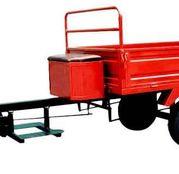 Remorca pentru motosapa, 350 kg, basculabila, Rotakt