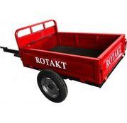 Remorca pentru motosapa, 500 kg, basculabila, Rotakt