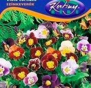 Seminte flori Panselute cu flori mici (Viola cornuta) amestec de culori 0,25g