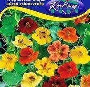 Seminte flori Coltunasi mici (Tropaeolum majus) amestec de culori 3g