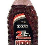 Ulei motor in doi timpi, rosu, Hexol 2T ( 500ml, 1L)